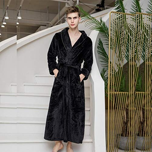 Traje de Bata Kimono de Terciopelo Coral Gris para Mujer