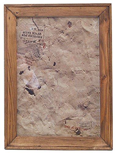 クレエ 額縁 オールドウッド フレーム L ライトブラウン 中紙サイズ:A4(W29.6×H21) 91000217