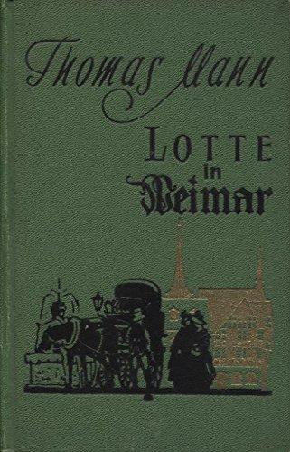 Lotte in Weimar.