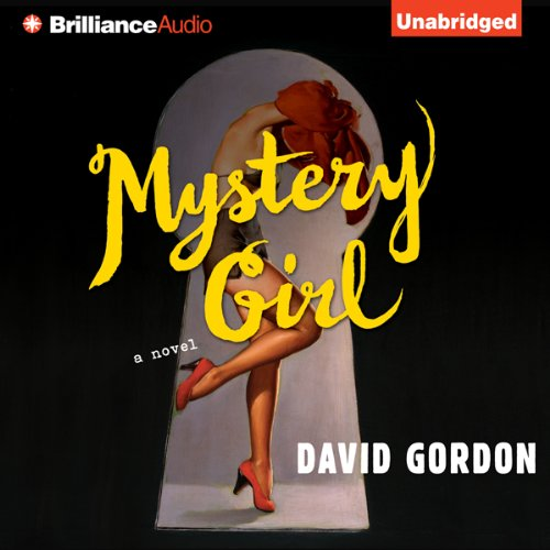 Mystery Girl audiobook cover art