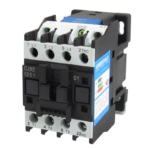 380V Coil Motor Controler contactor AC 3P 3Pole NC 660V 20A CJX2–1201