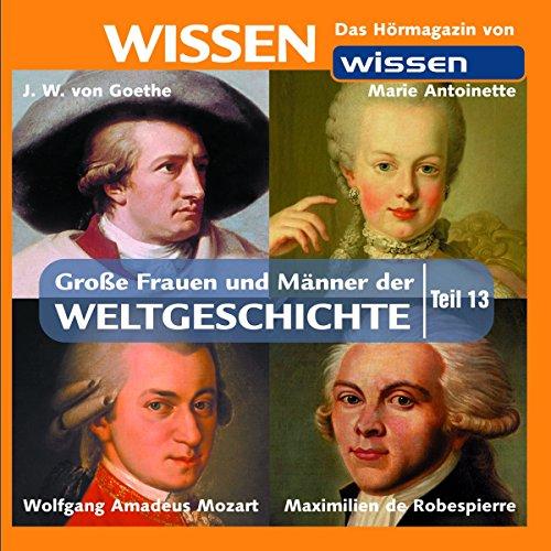 Große Frauen und Männer der Weltgeschichte 13 Titelbild