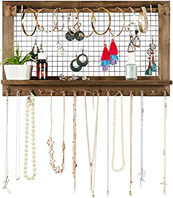SoCal Buttercup Jewelry Organizer with Bracelet Rod