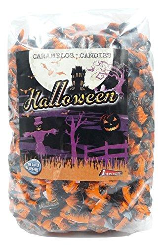 Halloween - Caramelos con sabor a frutas y cola - Bolsa de 1kg