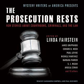 Mystery Writers of America Presents The Prosecution Rests audiobook cover art