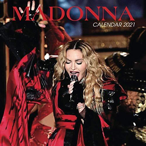 Madonna: 2021 Wall Calendar - Mini Calendar, 7'x7', 12 Months