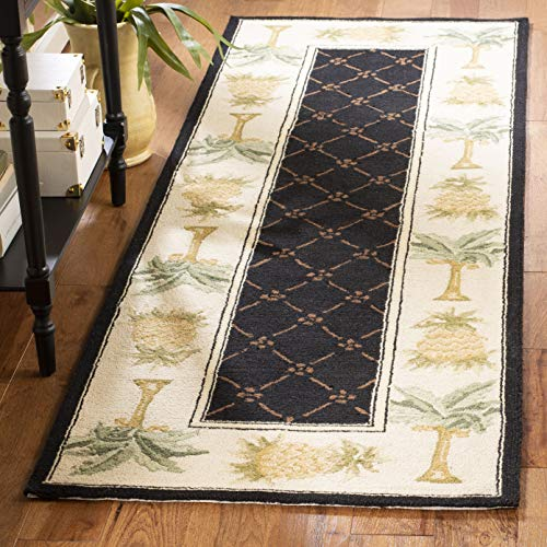 Safavieh Chelsea Collection hk362d-28Hand-Hooked Wolle Bereich Runner Chinesisch 2'6