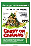 Carry On Camping PosteR 01 A3 Box Canvas Print