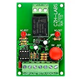 ELECTRONICS-SALON Panel Mount Momentary-Switch/Pulse-Signal Control Latching SPDT Relay Module,12V
