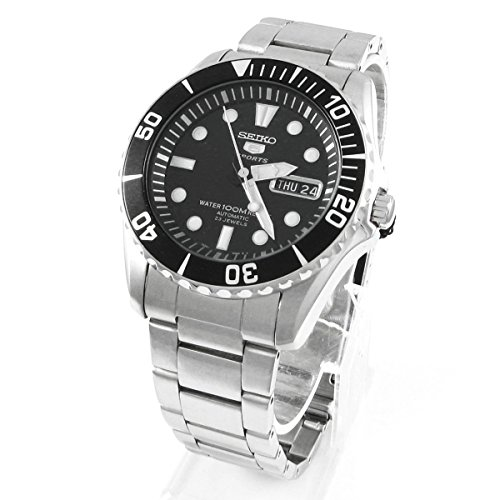 Seiko Snzf17K1 Men's Automatic Dive Stainless Steel Case & Braceletrotating Bezel100M Wrsnzf17 Men Men's Watches