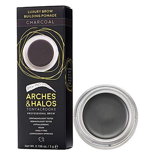 Arches & Halos Luxus Brauenbau-Pomade in Anthrazit, 2,8 g