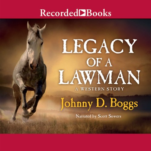 Legacy of a Lawman audiobook cover art