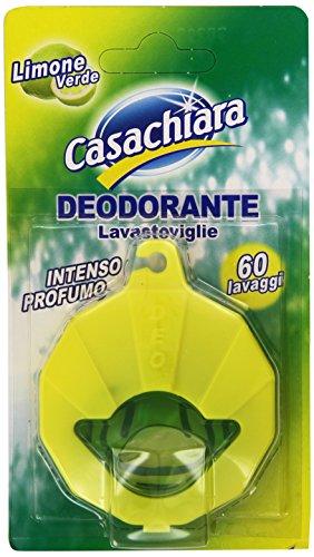 Casachiara - Deodorante Lavastoviglie, Intenso Profumo Di Limone Verde, 60 Lavaggi