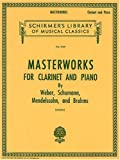 Schirmer's Library Masterworks for Clarinet and Piano, Vol. 1747