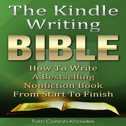 The Kindle Writing Bible audiobook cover art