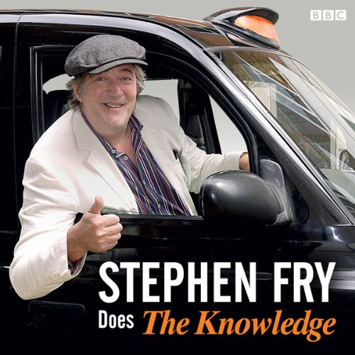 Stephen Fry Does the 'Knowledge' cover art