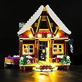 LIGHTAILING Set di Luci per (Friends Chalet del Villaggio Invernale) Modello da Costruire - Kit Luce LED Compatibile con Lego 41323 (Non Incluso nel Modello)