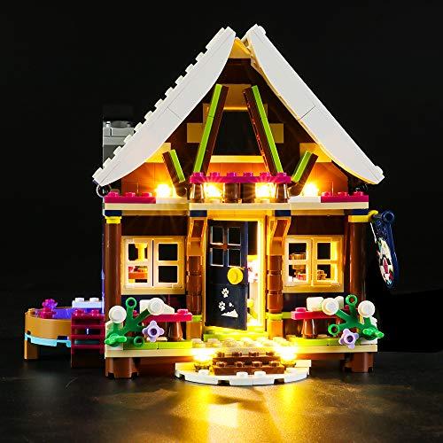 LIGHTAILING Licht-Set Für (Friends Chalet im Wintersportort) Modell - LED Licht-Set Kompatibel Mit Lego 41323(Modell Nicht Enthalten)