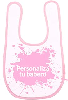Amazon.es: baberos personalizados: Bebé