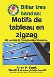 Billar tres bandas - Motifs de tableau en zigzag: De tournois de championnat professionnel