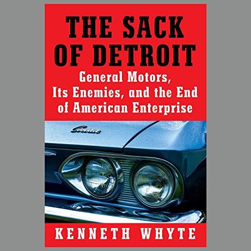 The Sack of Detroit cover art