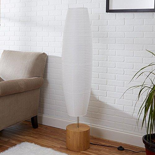 Mainstays Rice Paper Shade Floor Lamp