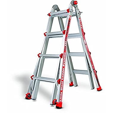 Little Giant 14013-001 Model 17 250 Lbs Capacity Alta-One Ladder, 15 Feet