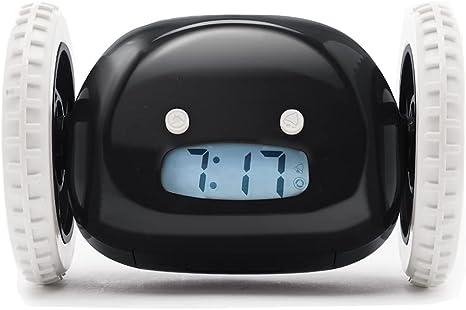 CLOCKY, Reloj Despertador Ruidoso sobre Ruedas (Original) |