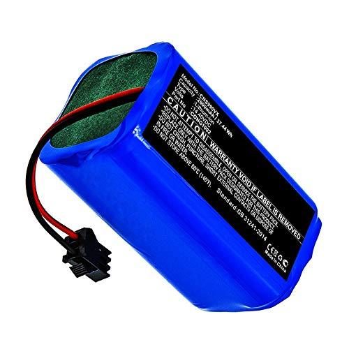 subtel® Batería Premium 14.4V, 2600mAh, Li-Ion Compatible con Cecotec Conga 1090 Conga 1190 Conga 950 Conga 990, CONG1002 bateria Repuesto aspiradora Pila reemplazo sustitución