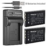 Kastar Battery (X2) & Slim USB Charger for URC 11N09T NC0910 RLI-007-1 MX-810 MX-880 MX-890 MX-950 MX-980 Universal Remote Controls