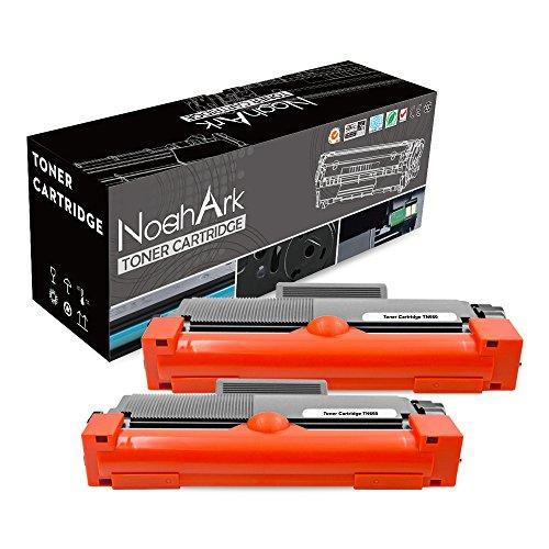 NoahArk Geschikt voor Brother TN2320 Toner Cartridge voor Brother HL-L2300D HL-L2320D HL-L2340DW HL-L2360DW HL-L2380DW DCP-L2520DW MFC-L2720DW MFC-L2700DW DCP-L2540DW MFC-L2740DW printer (2 zwart)