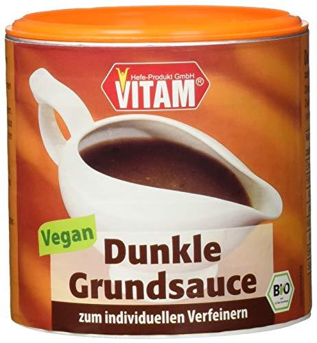 Vitam Dunkle Grundsauce, 3er Pack (3 x 125 g)