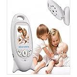 Joyeer Video Baby Monitor con cámara de emparejamiento Reproductor de música Talkback Sistema IR Night View Anti-parpadeo Sensor de temperatura