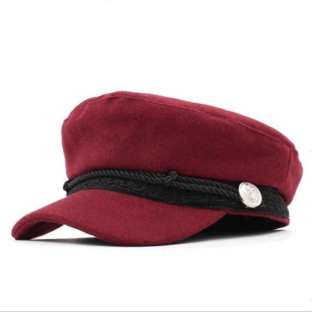 Women's Newsboy Hat, Fiddler Cap Military Cap Visor Beret Cap Bakerboy Cabbie Sun Hat Fashion Beret Retro English Style
