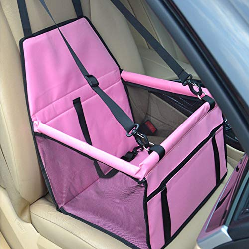 WYSTLDR Double Thick Travel Accessories Mesh Hanging Bags Folding Pet Supplies Waterproof Dog Mat Blanket Safety Pet Car Seat Bag Dog Carriers
