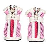 Y-M-H Zapatos De Perro De Malla Transpirables Zapatos Al Aire Libre Zapatos para Correr con Suela Antideslizante # 5