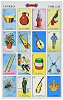 Autentica LOTERIA Mexican Bingo Set 20 Tablets Colorful and Educational! by Don Clemente [並行輸入品]