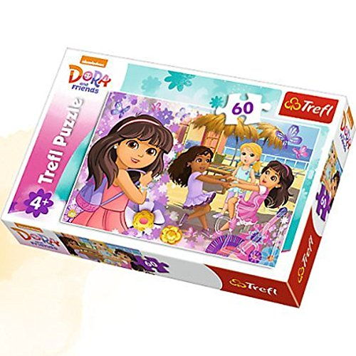 Puzzle 60 Dora and friends Taniec i muzyka
