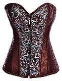 Alivila.Y Fashion Womens Sexy Steampunk Gothic Steel Boned Vintage Corset