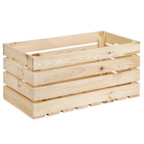 35litros Caja de madera caja de madera 50x 27cm Material 1cm Vino Caja