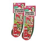 HAPIDS Good Boy Christmas Dog Stocking 5pcs (Pack of 2)