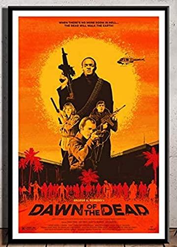 ZYYSYZSH Película de Terror Dead of The Dawn Posters, Rompecabezas de cartón, 1000 Piezas, Juguetes para Adultos, Juego de descompresión (38x26cm)