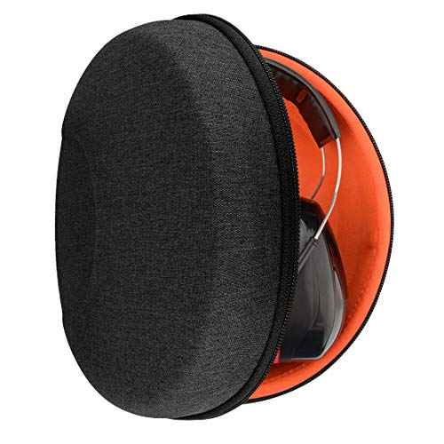 Geekria Funda para Auriculares 3M WorkTunes Connect, Connect +, Optime 105, X-Series, Digital WorkTunes Am-FM Stereo, MP3 Bluetooth Radio Headphone, Estuch Rígido