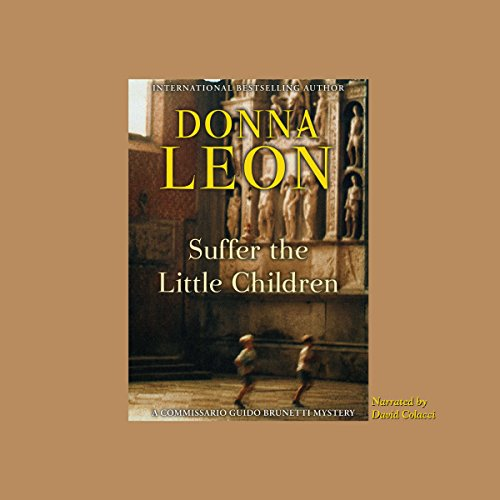 Suffer the Little Children audiobook cover art