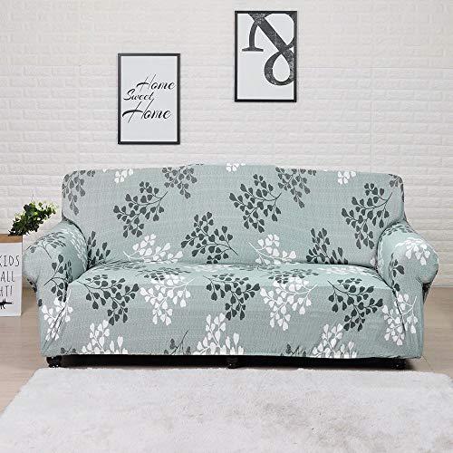 Funda de sofá elástica para Sala de Estar Funda de sofá de Licra para sofá de Esquina Funda de sillón A14 1 Plaza