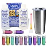 Epoxy Tumblers Kit with Glitter for Tumblers, Includes Amazing Clear Cast Epoxy for Tumblers,...