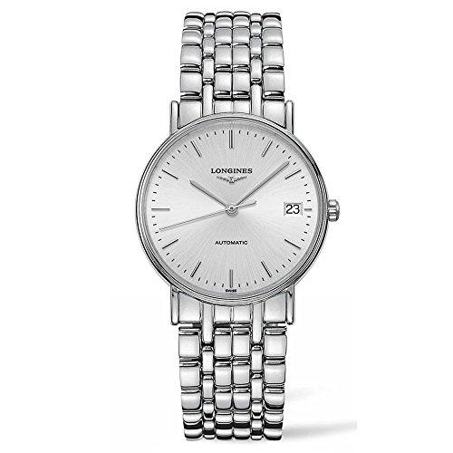 Longines Damen-Armbanduhr 34mm Armband Edelstahl + Gehäuse Automatik L48214726