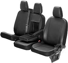 Autositzbezüge Ford Tourneo Custom VII 13 8-Sitze Schwarz Transporter Schonbezug