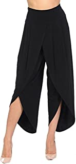 Women's Casual Point Stretchy Wide Leg Palazzo Lounge Pants