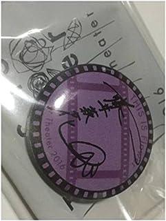 EXILE Flower Theater ツアーグッズ サイン缶バッジ 藤井萩花 E-girls